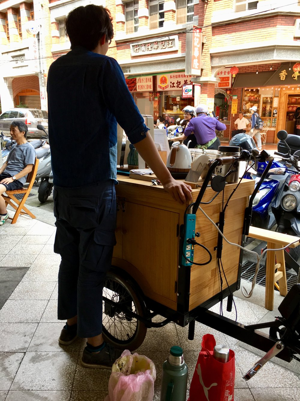 Coffee Cart in Taipei