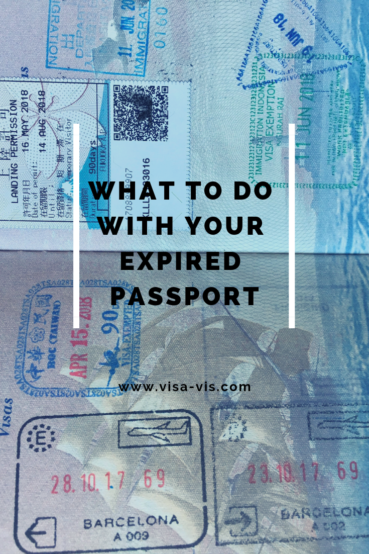 What to do with your expired passport
