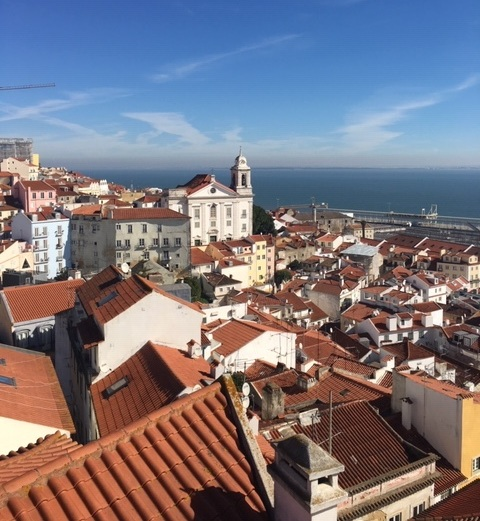 Miradouro Viewpoint Lisbon Spain