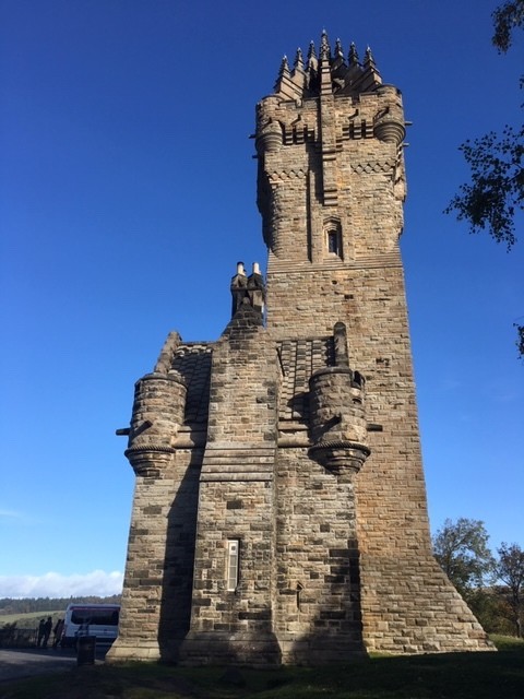 William Wallace National Monument Stirling Scotland
