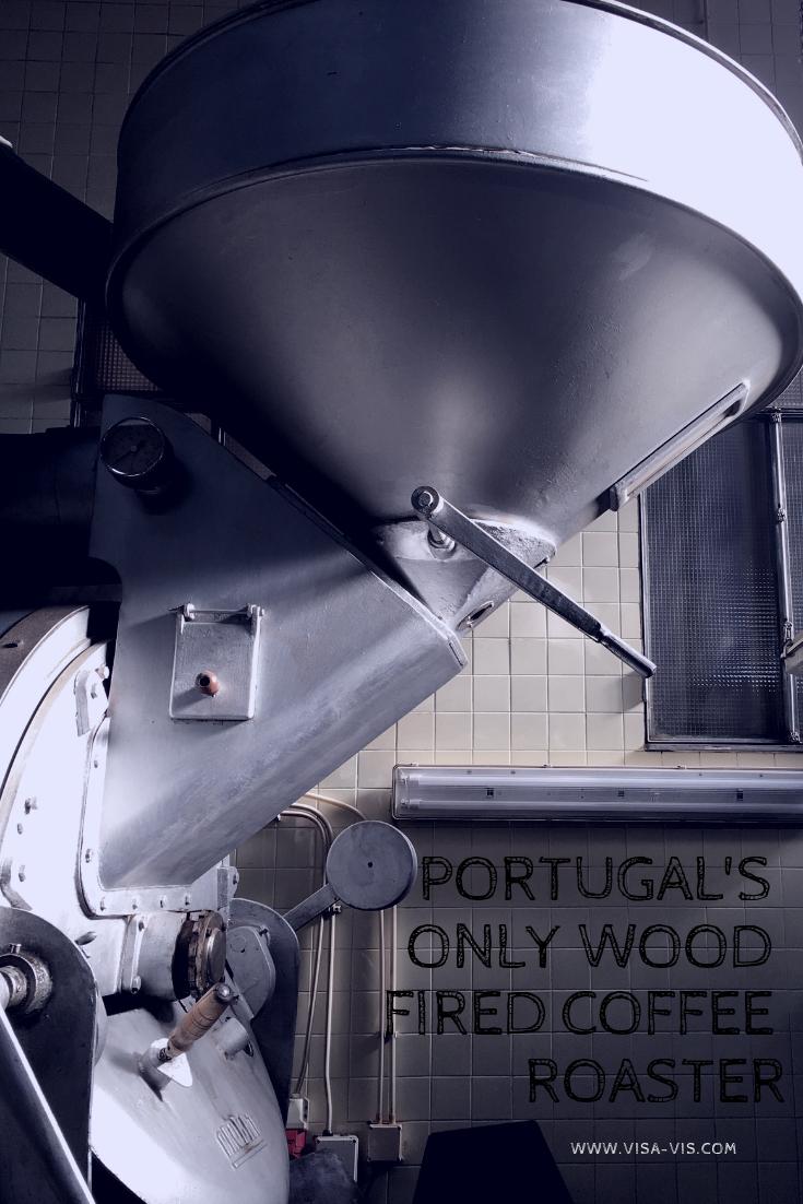 The coffee roaster at Flor da Selva