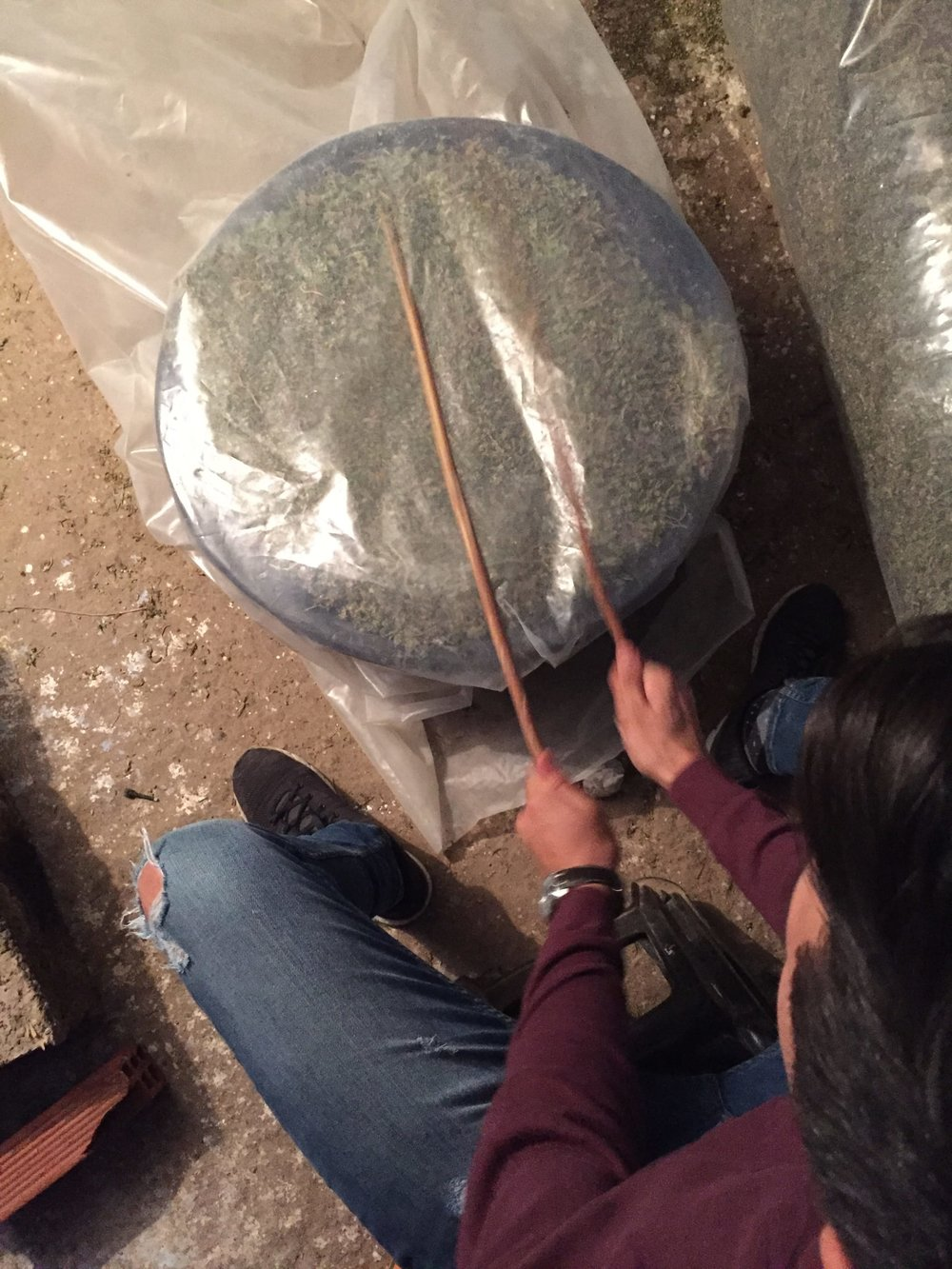 Gomez extracting the hash