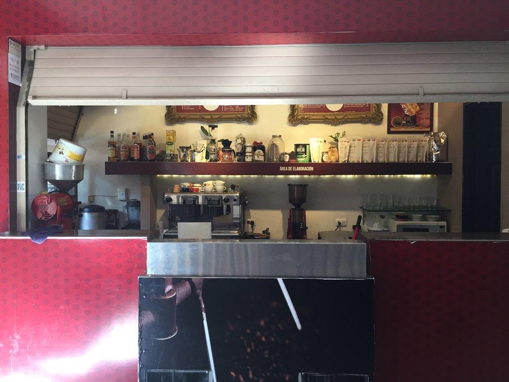Best Coffee Shops in Merida: Cafe Condesa