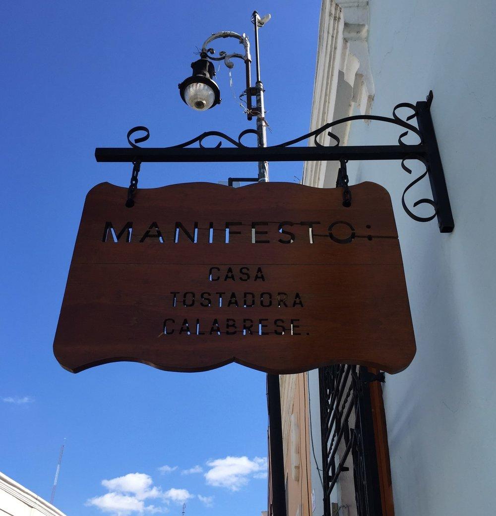 Best Coffee Shops in Merida: Manifesto Coffee