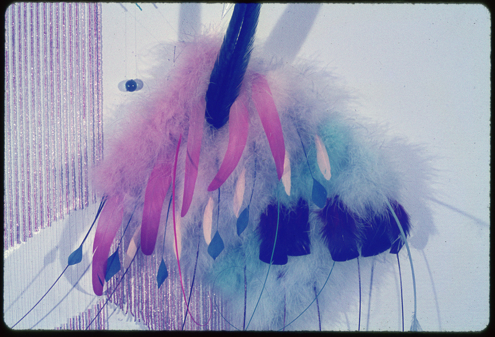 Large Feather Wall Hanging detail.jpg