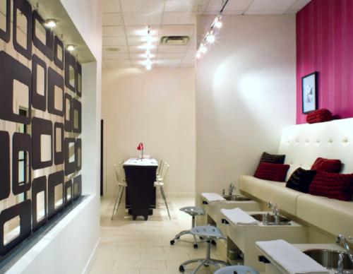 Manicure & Pedicure room