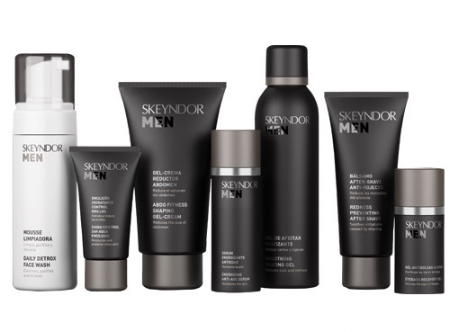 Skeyndor's Skin care for Men - spa downtown Edmonton