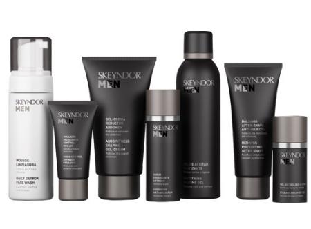 Skeyndor's Skin care for Men - spa downtown Edmonton