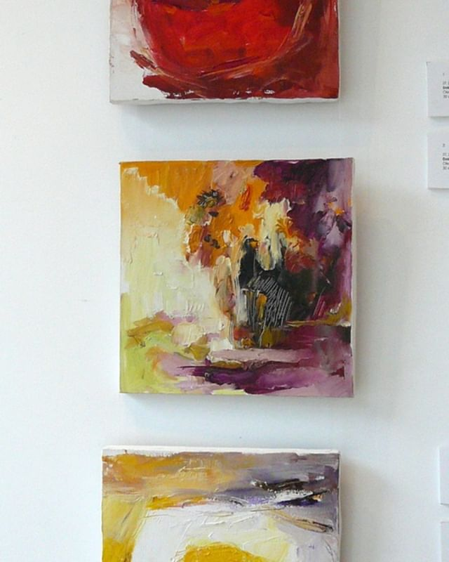 Doina Vieru, Serie Bodegones, 2012, 30x30cm, óleo sobre lienzo.
