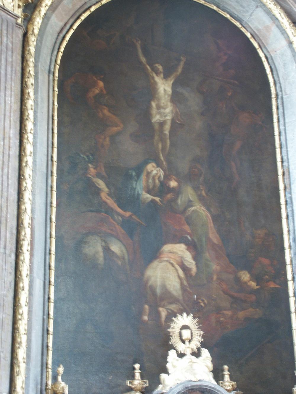 M.J.Schmidt Kreuzigung Christi Gesamtaufnahme vor Restaurierung.JPG