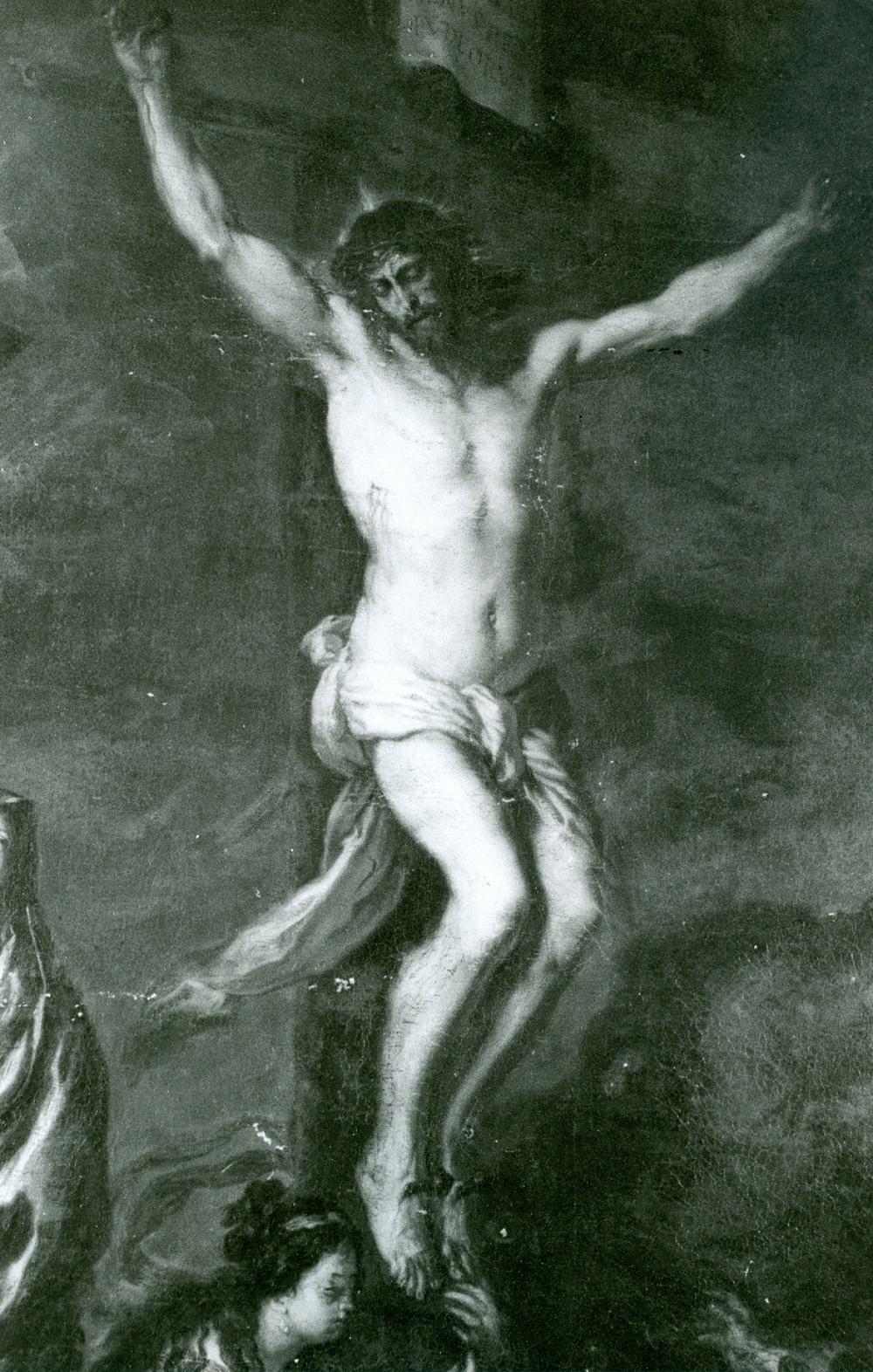 Joachim von Sandrart »Kreuzigung Christi« Detail nach Restaurierung