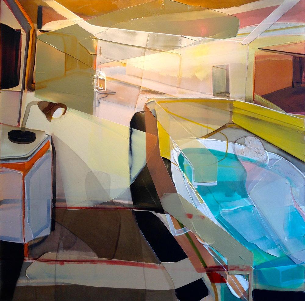 22 hrs 30,   2016   acrylique sur toile   72'' x 72''