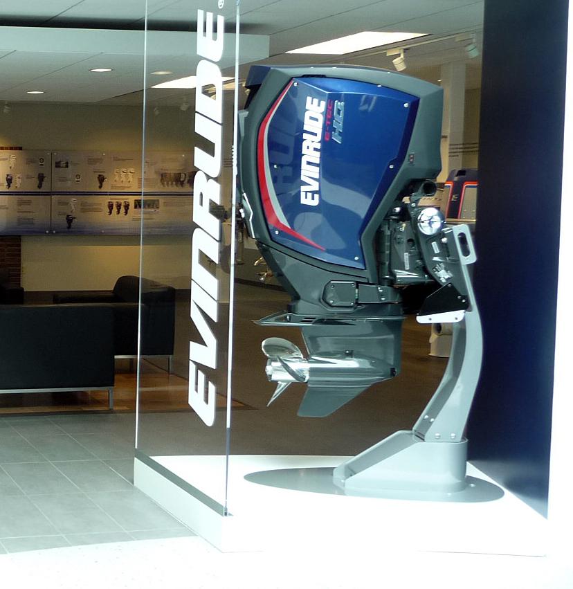 BRP office segment in Sturtevant, Wisconsin.