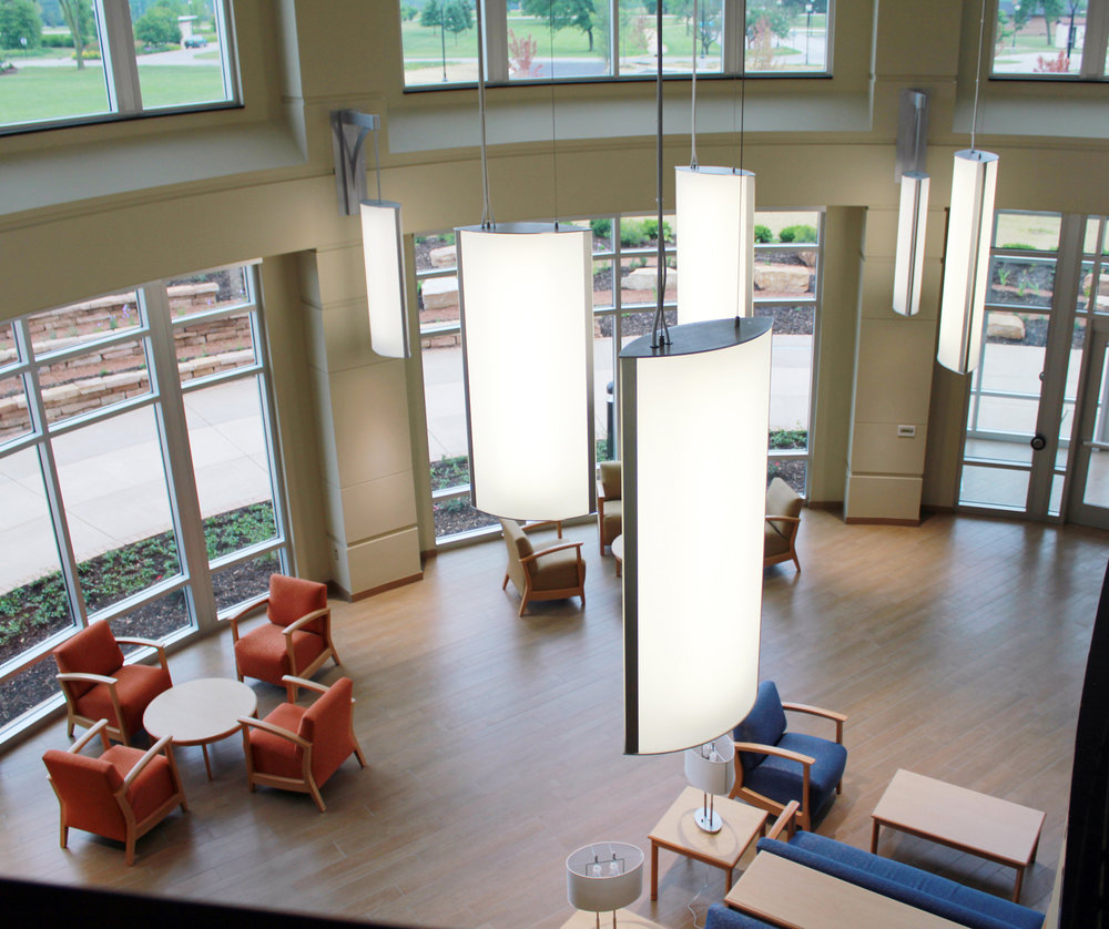 Concordia University Wisconsin School of Pharmacy interior in Mequon, Wisconsin