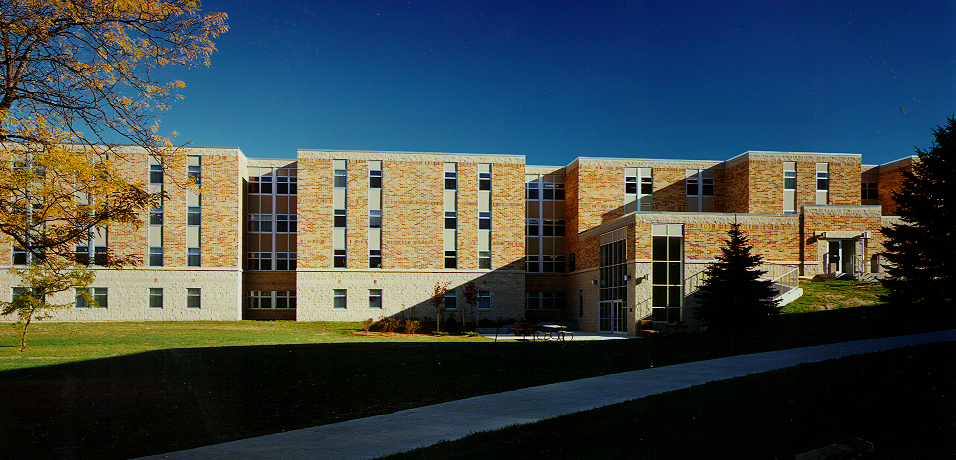 Regents residence hall at Concordia University Wisconsin in Mequon.