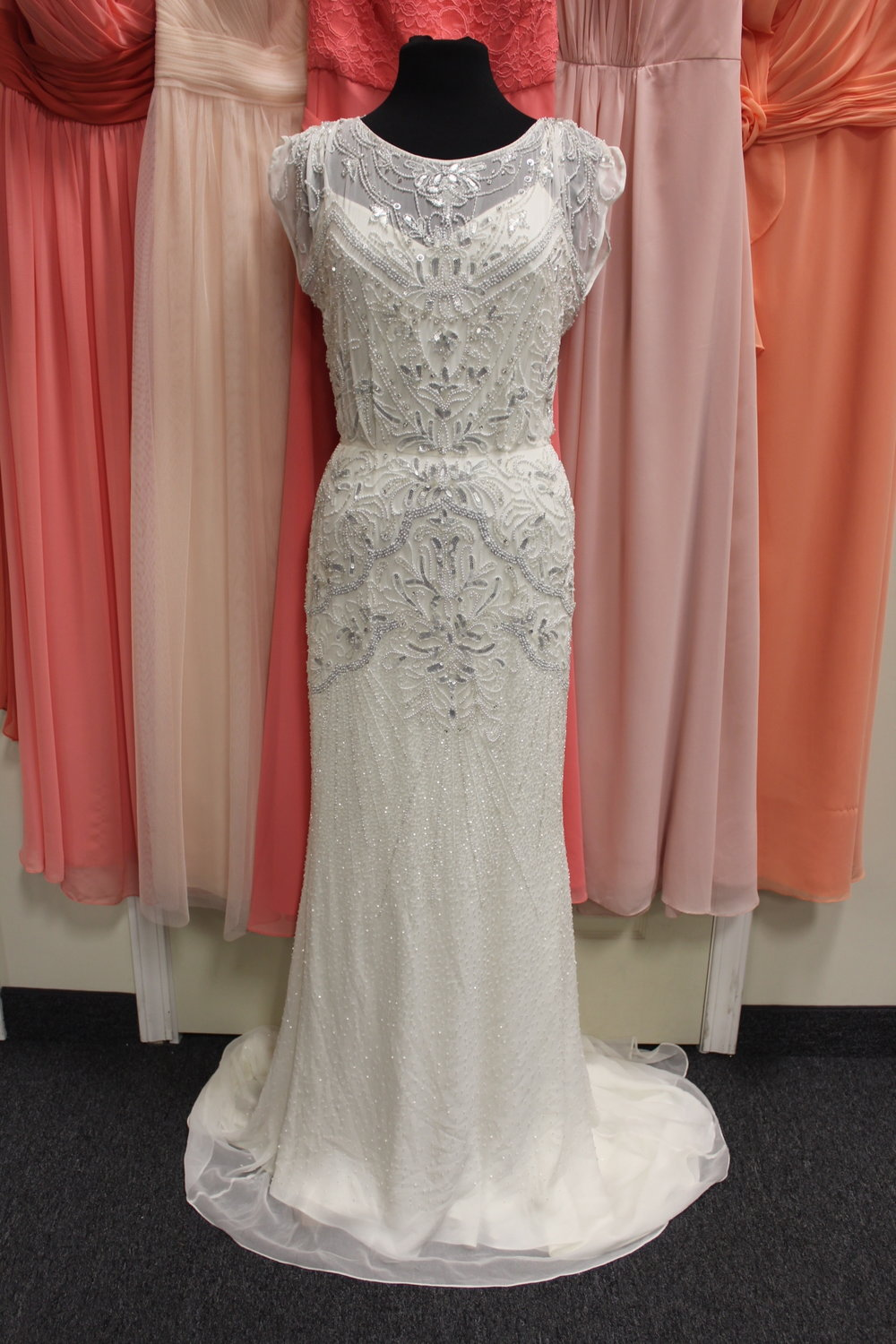 Rosa Clara - 20852-19Location: WoodburySize: 10This dress is brand NEW!Original Retail Price: $2539OUR Price: $1654