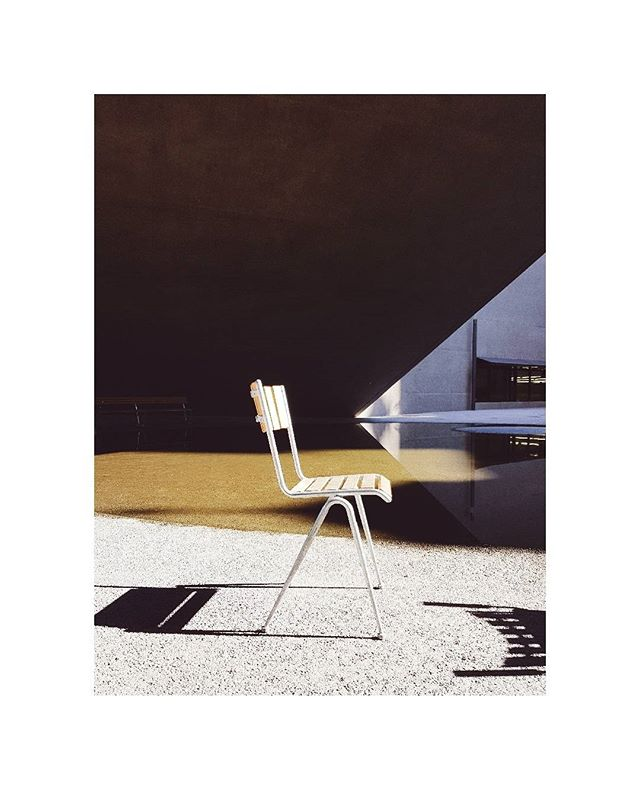 Archive . . . . . . . #architecture #chair #graphic #furnituredesign #sunlight #harshshadows #landesmuseum