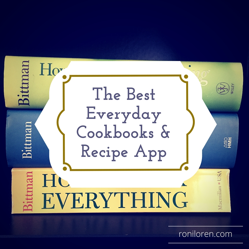 The Best Everyday Cookbooks and Recipe App - Roni Loren
