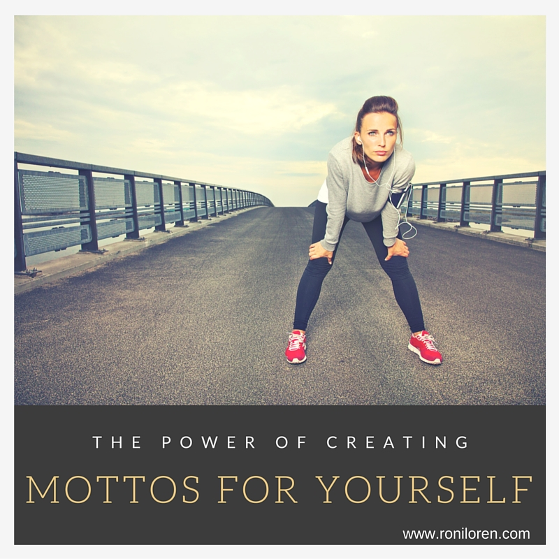 Creating a Motto for your year