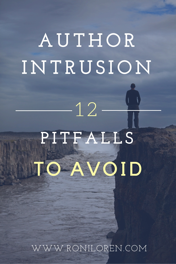 Author Intrusion - Pitfalls to avoid