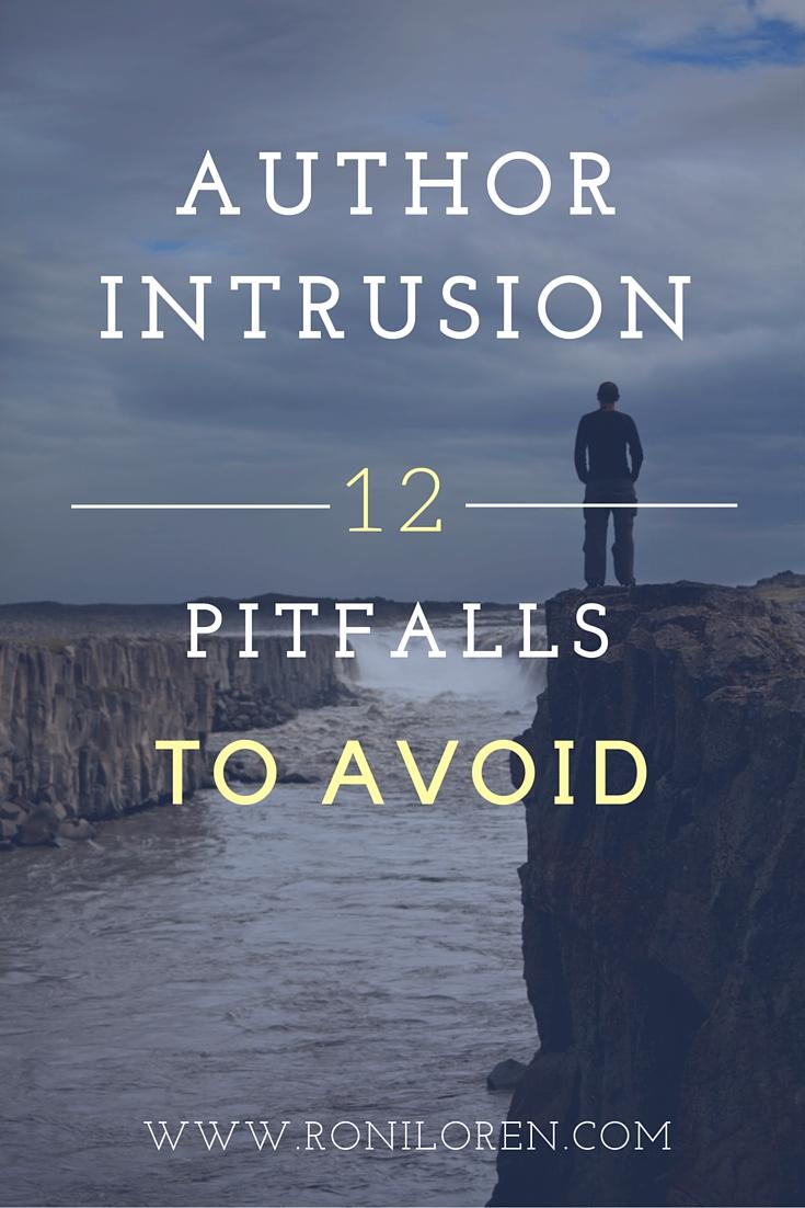 Author Intrusion - Pitfalls to avoid