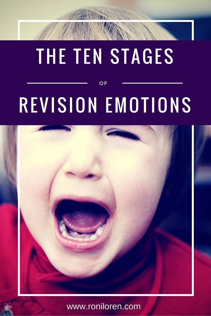 The Ten Stages of Revision Emotions for Writers