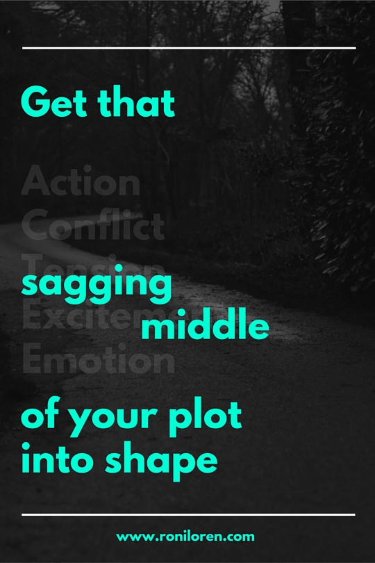 Fix that sagging middle of your plot