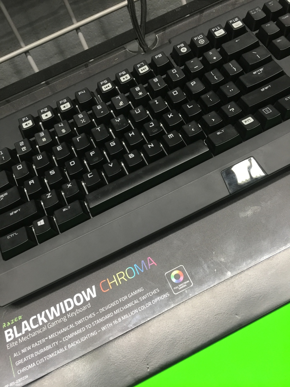 Blackwidow Chroma keyboard