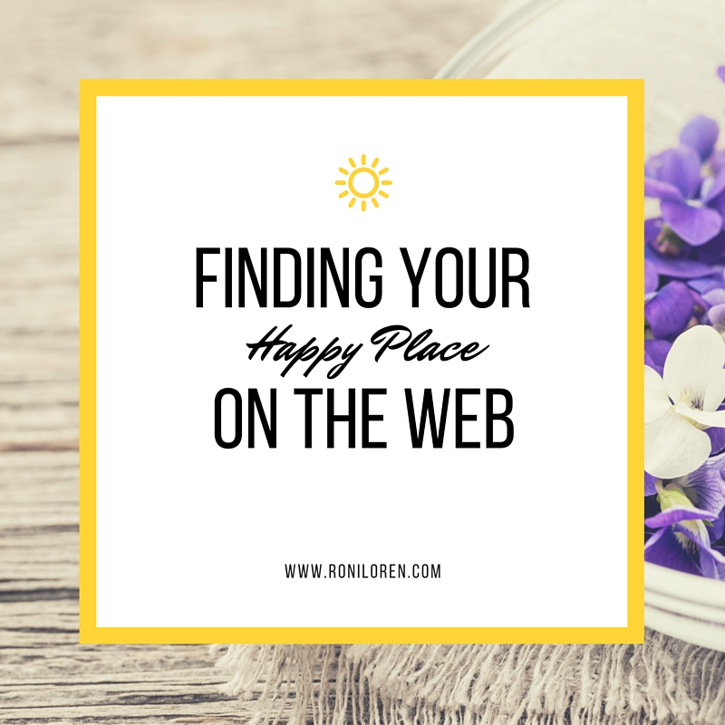 Finding Your Happy Place on the Web