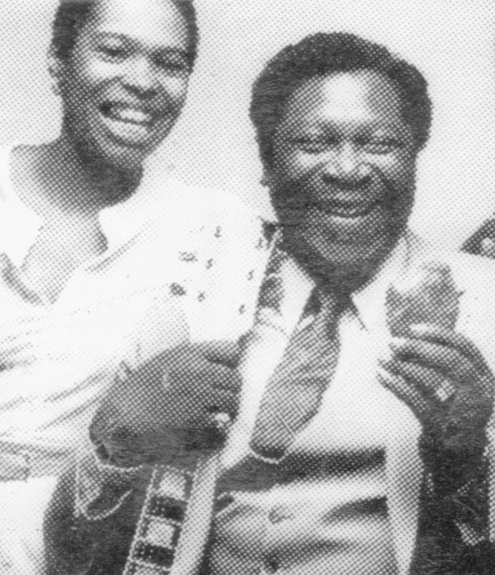 "Deb and BB King ""doing it right"" for KFC!"