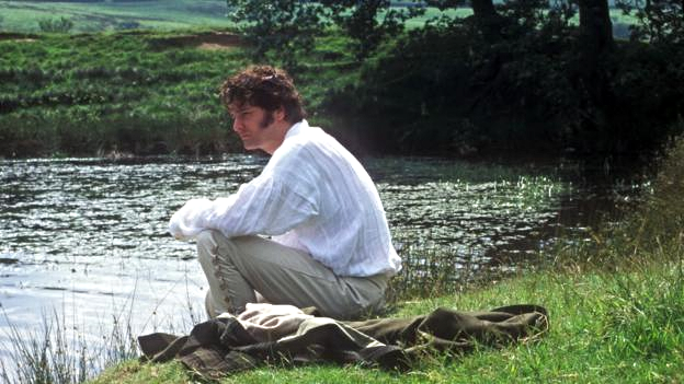 I'M FEELING A LITTLE OVERHEATED. GOOD THING PEMBERLEY HAS A POND. (CREDIT: BBC)