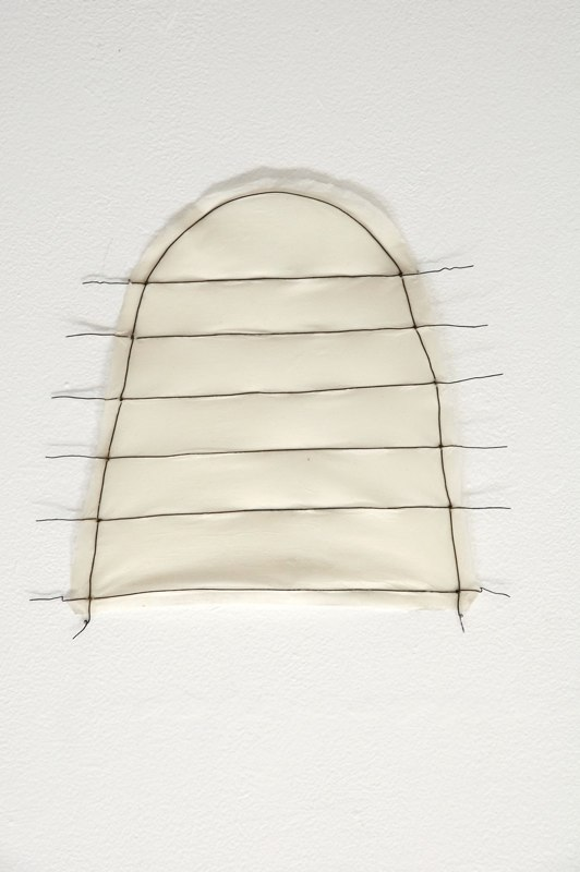 Hive, 2008, paper, wire 13 x 12 x .25 inches