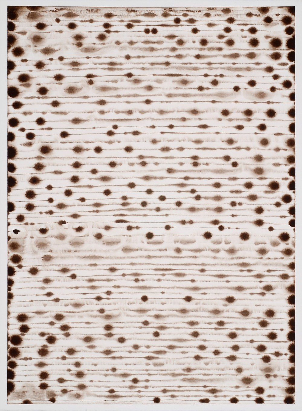 Lisa Espenmiller, 07.27.11 (the groundless ground), 2011, ink on paper, 30 x 22 inches