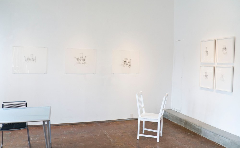 Sheila Ghidini. Conversations, Installation View, 2013