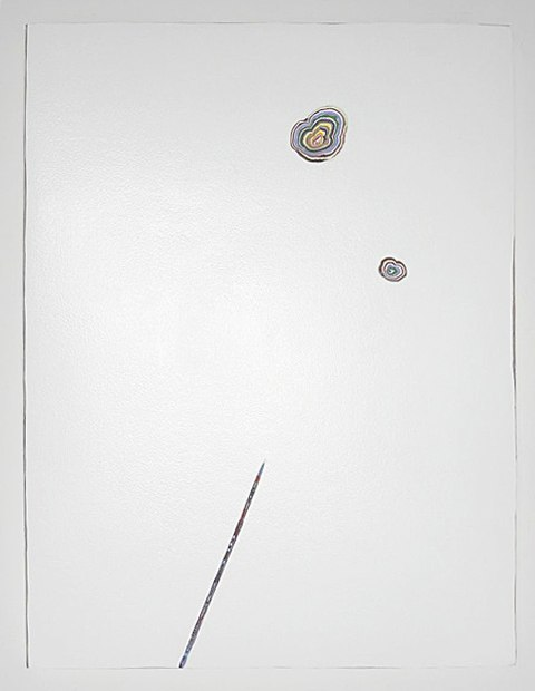 David Allan Peters Untitled #34, 2013 acrylic on panel 24 x 18 inches