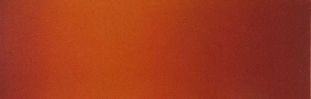 Dianne Romaine Chroma 7, 2010 acrylic on canvas 12 x 36 inches