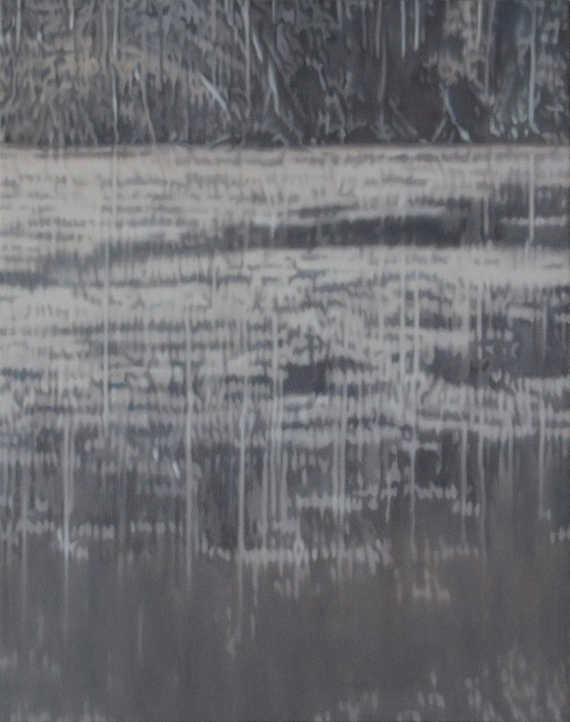 Holly Williams Forest Reflections, 2012 oil on panel 38 x 30 inches