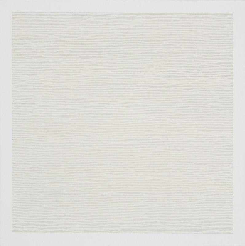 Lisa Espenmiller One with the dust, 2012 acrylic, ink, & graphite on canvas over panel     20 x 20 inches