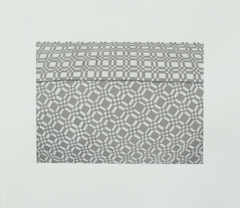 Leeza Doreian Vantage Gouache #2, 2010 gouache on paper 12 x 14 inches