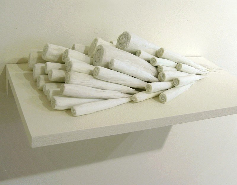 Sandra Ono untitled, 2011 floss and acrylic 17 x 9 x 8 inches