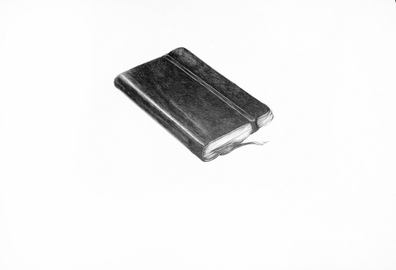 Sheila Ghidini Lydia's Address Book, 2011 graphite on paper 12 x 16 inches