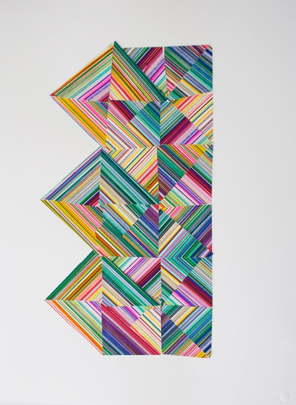 David Allan Peters Untitled wop #3, 2012 collage on paper 30 x 22 inches