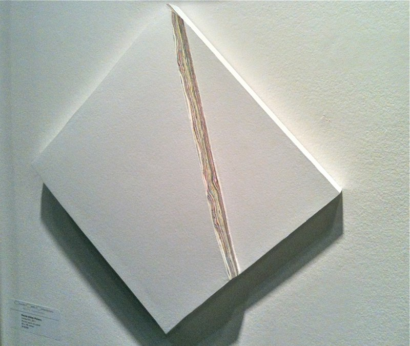 David Allan Peters Untitled #56, 2011  acrylic paint on panel 12 x 12 inches