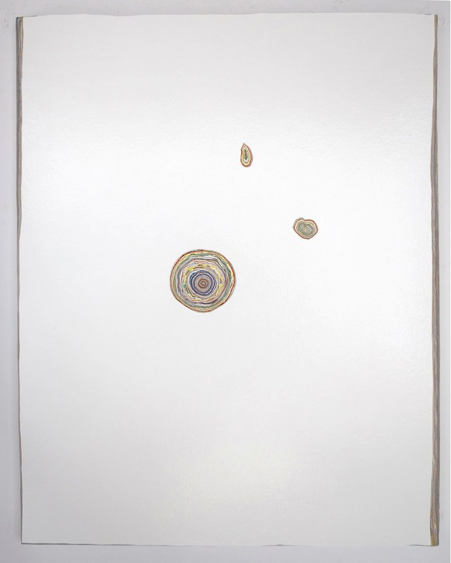 David Allan Peters Untitled #10, 2012 acrylic paint on panel 20 x16 inches