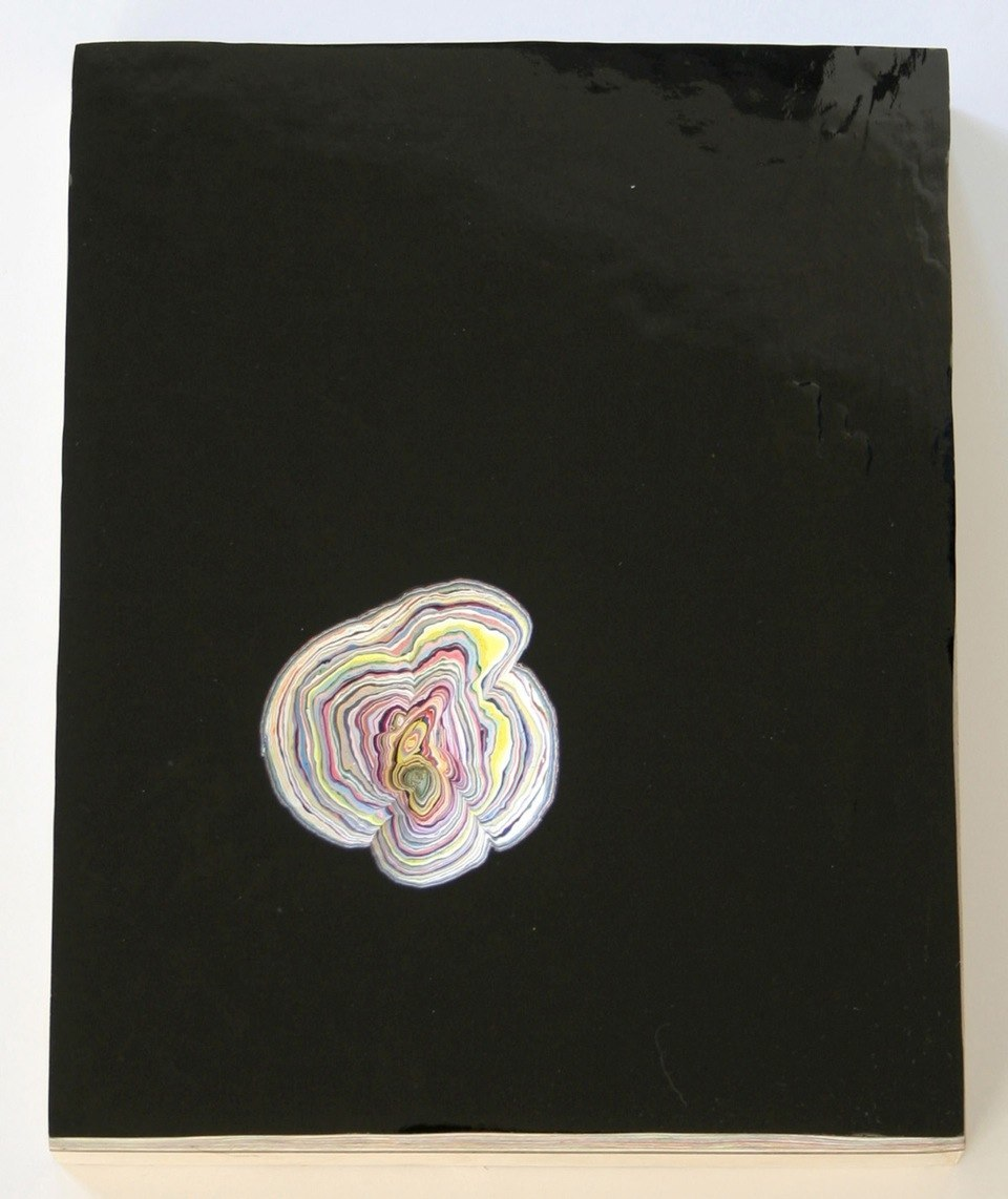 David Allan Peters Untitled #23, 2011  acrylic paint on panel 10 x 8 inches