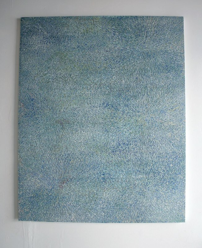 David Allan Peters Untitled #4, 2011 acrylic paint on panel 60 x 48 inches