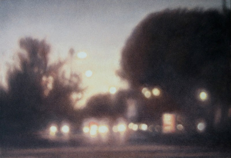Holly Williams Nightfall, 2011 oil on panel 15 x 20 inches