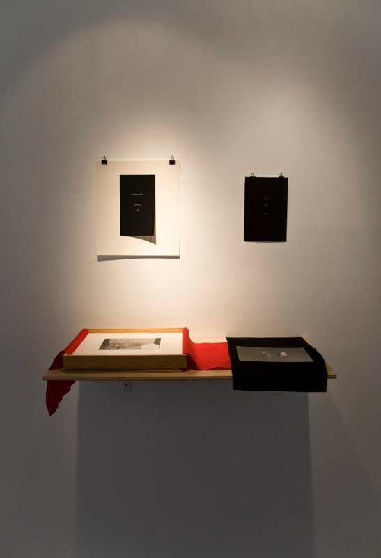 Jordan Biren Box,1989 wood, felt, silver prints mounted on archival paper  15 x 13 x 2 inches