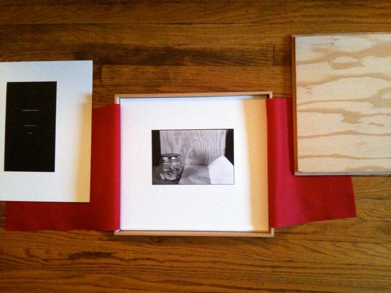 Jordan Biren Box,1989 wood, felt, silver prints mounted on archival paper  15 x 13 x 2 inches