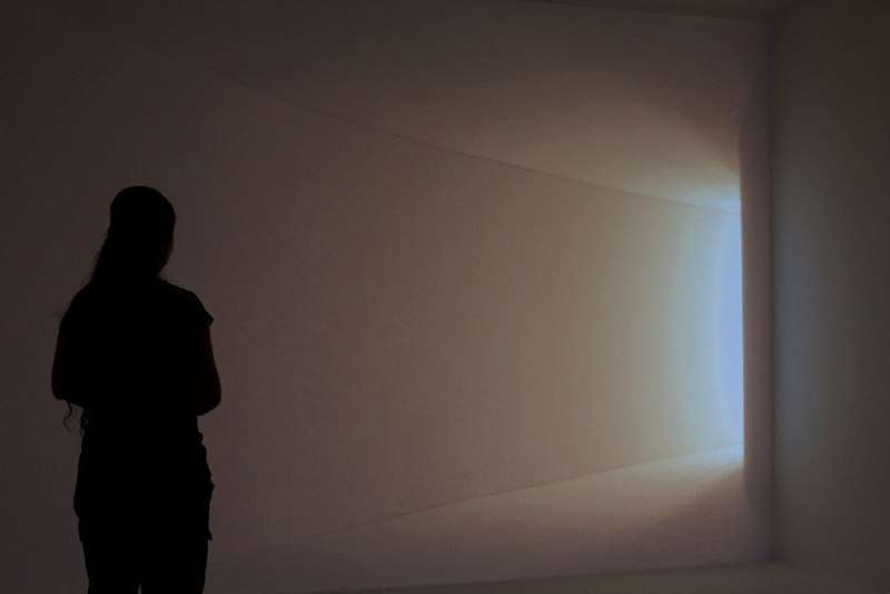 Amy M. Ho Wall Space III. 2010 single channel projection Dimensions Variable